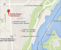 Directions to Ramada by Wyndham Niagara Falls Fallsview