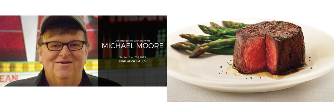 Ramada by Wyndham Niagara Falls Fallsview - An Interactive Evening with Michael Moore Package