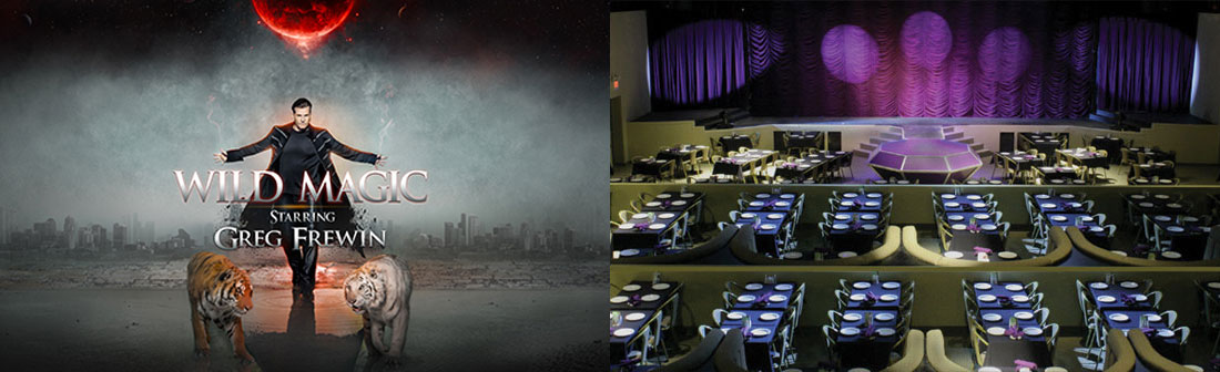 Ramada by Wyndham Niagara Falls Fallsview - Greg Frewin Las Vegas Magic Show Package