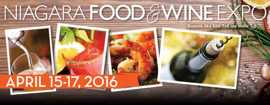 Ramada by Wyndham Niagara Falls Fallsview - Niagara Food and Wine Expo 1 Night Package