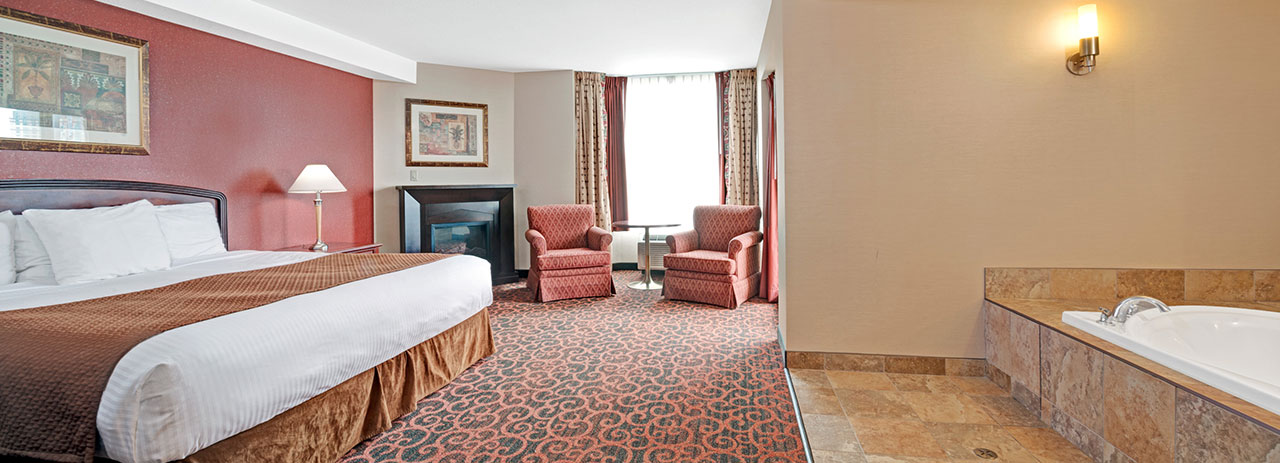 Rooms - Ramada by Wyndham Niagara Falls Fallsview