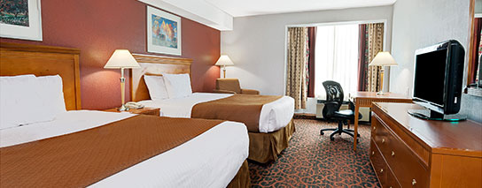 Ramada Hotel Niagara Falls Fallsview - 2 Queen Bed Cityview Room - Dining Voucher Included